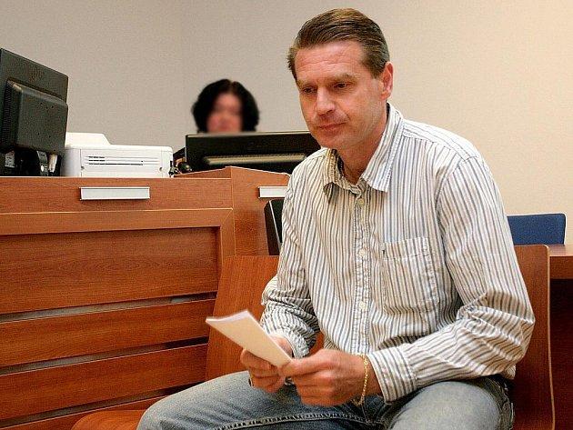 Pavel Dočkal u soudu v Brně.