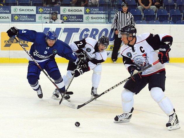 Kometa Brno vs Linköping Švédsko - 9 Roman Erat, 7 Magnus Johansson a 2 Jonatan Nilsen.
