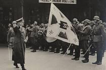 17. března 1937, přijel Adolf Hitler.