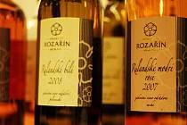 Výstava vín v Židlochovicích.