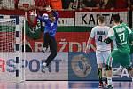 Zdráhala vystřílel 14 góly postup! Češi přehráli Maďary 33:27