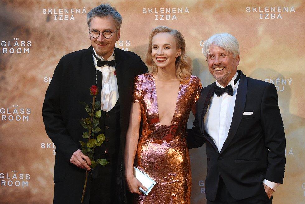 Brno 12.3.2019 - Slavnostní premiéra filmu Skleněný pokoj v brněnském univerzitním kině Scala - Jana Plodková.