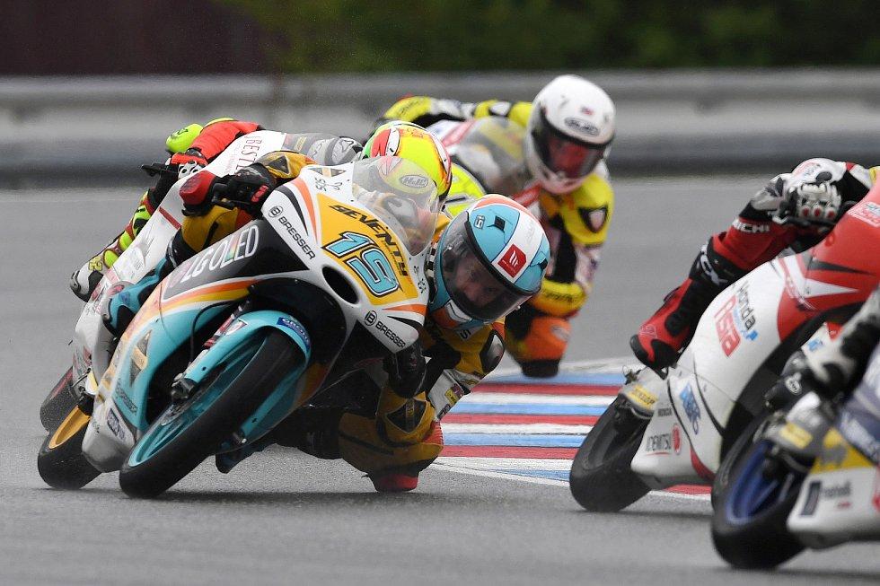 Monster Energy Grand Prix České republiky 2017, Moto 3 - Gabriel Rodrigo.
