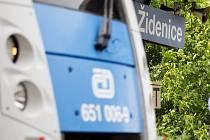 Vlakové nádraží v Brně-Židenicích.