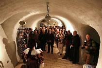 Otevření podzemního labyrintu pod Zelným trhem v Brně.
