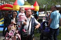 Třetí ročník festivalu propagujícího těhotenství hostila brněnská Riviéra. Založili ho manželé Staňkovi, kteří chtěli podpořit povědomí o těhotenství a ukázat, že jde o zcela normální věc.