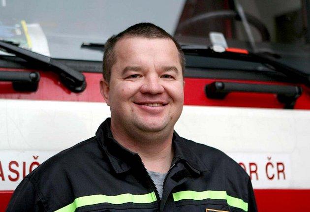 Oceněný hasič Stanislav Racek