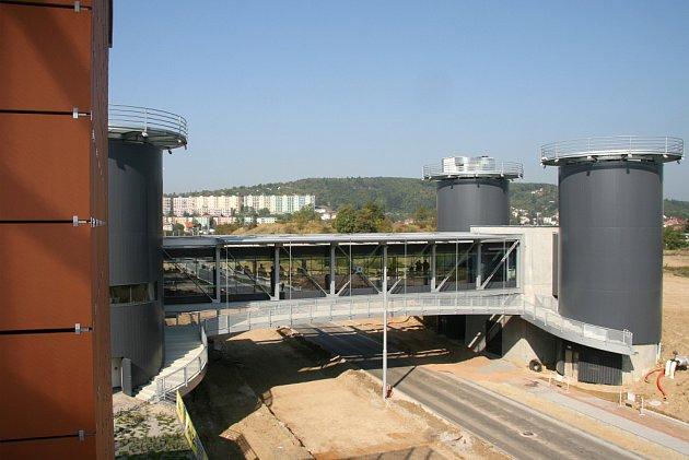 pohled na nový/plánovaný Kampus v Brně-Bohunicích