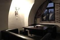 Restaurace Moname v bývalém barokním zámečku v Medlánkách.