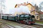 Parní lokomotiva Rosnička.