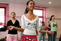 Gypsy dance workshop v Centru tance.