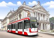 Dopravní podnik města Brna dá veřejnosti možnost rozhodovat o vizuální podobě a jménu pro nové tramvaje, které plánuje pořídit.