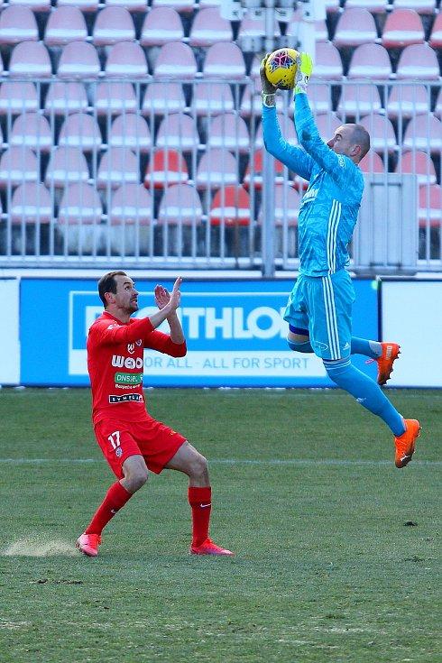Fotbalisté Zbrojovky Brno remizovali 0:0 v utkání proti Zlínu.