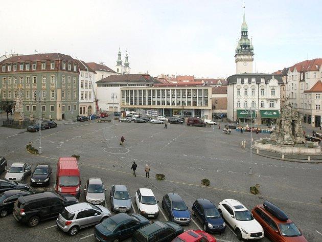 Zelný trh v Brně - ilustrační foto.