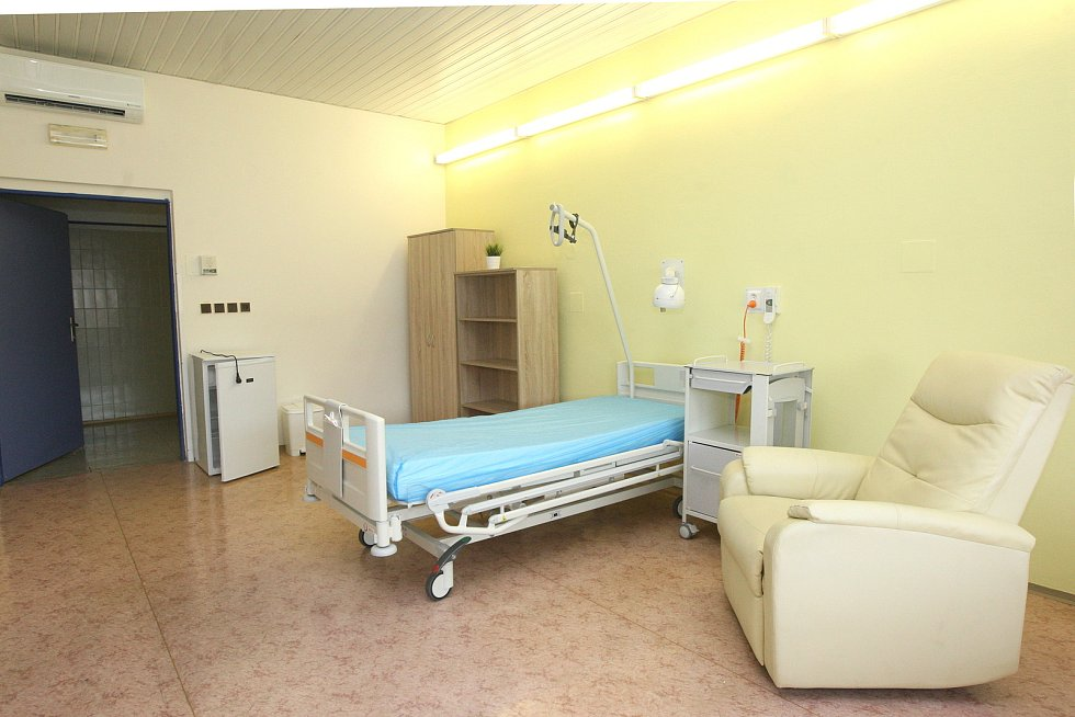 Opravená budova Úrazové nemocnice v Brně.