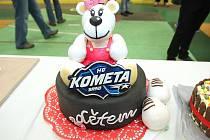 Kometa uspořádala pro své fanoušky již tradiční dortiádu.