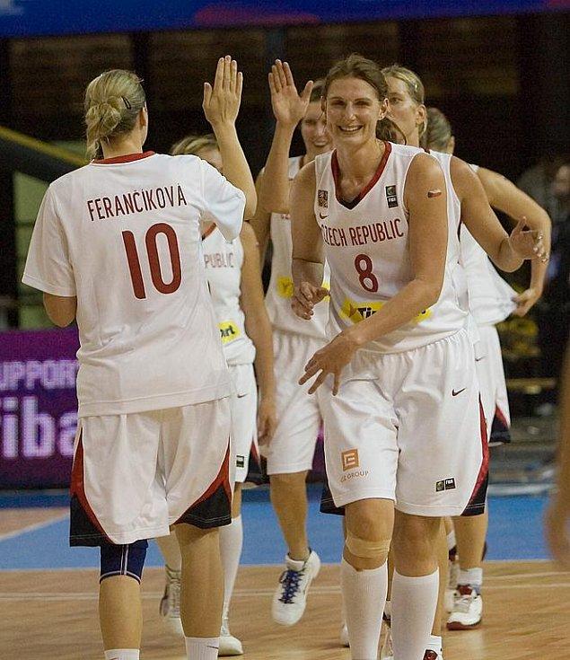 Mistrovství světa v basketbale Česko vs Argentina.