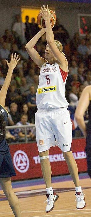 Mistrovství světa v basketbale - Večeřová.