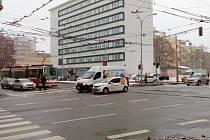 Nebezpečné křižovatky v Brně.