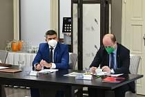 Volební valná hromada Asociace malého fotbalu České republiky zvolila za nového prezidenta Matěje Horna (na snímku).