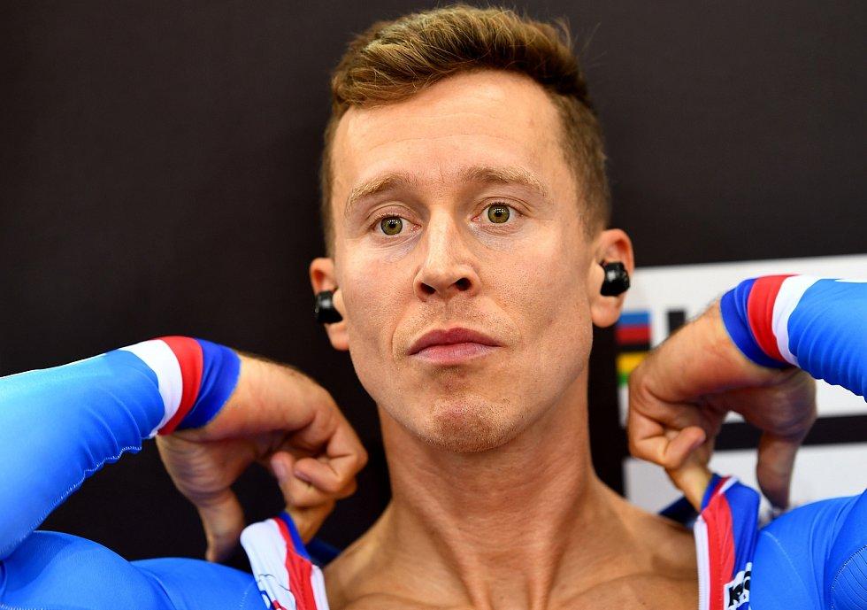 Dráhový cyklista Tomáš Bábek z brněnské Dukly už na mistrovství světa vybojoval dvě medaile.