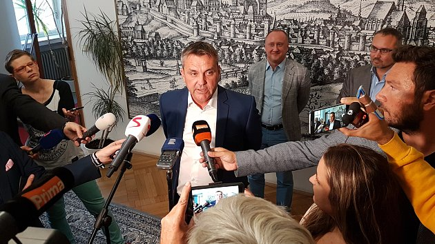 Bývalý brněnský primátor Petr Vokřál.