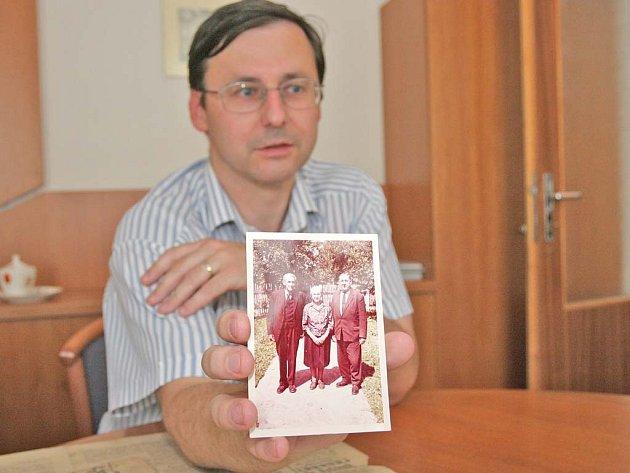 Potomek zavražděných Němcových Petr Doležal z Brna