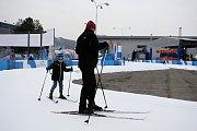 Olympijský park na Brněnském výstavišti se pomalu probouzí.