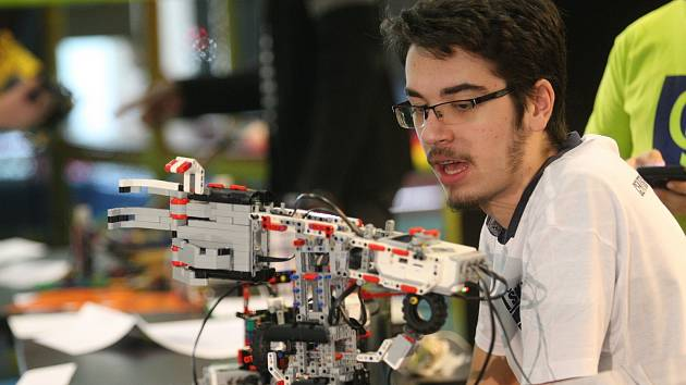 Robotiáda v brněnském VIDA centru.