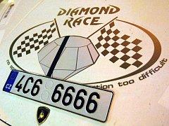 Závod Diamond Race. Ilustrační foto.
