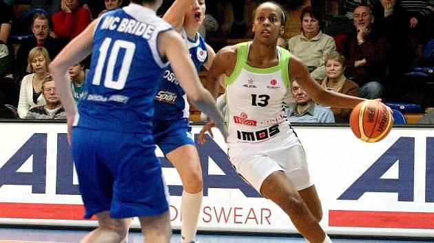 Basketbalistka Frisco Brno Farhiya Abdiová.