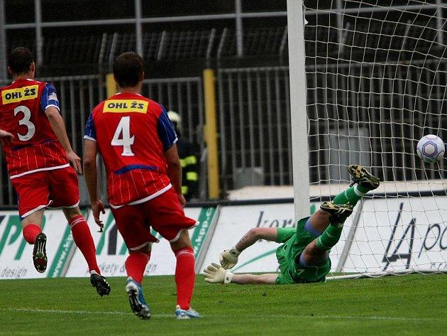 Fotbalisté Zbrojovky podlehli v posledním 30. kole Gambrinus ligy třetímu Jablonci 3:4.