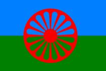 Romská vlajka.