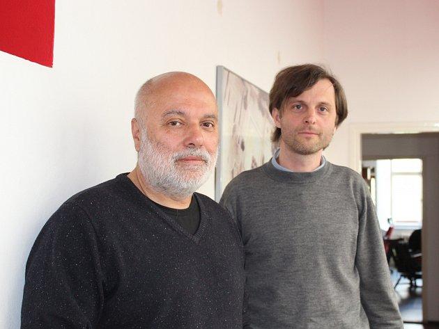 Radko Květ (vlevo) a Pavel Pijáček.