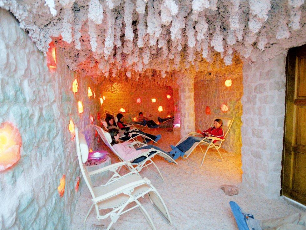 Solná jeskyně - Ilustrační foto.