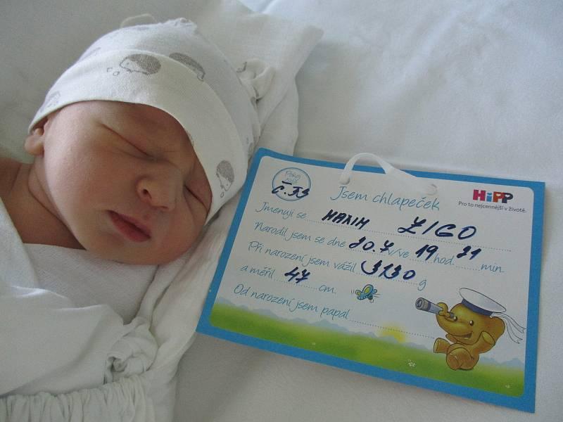 Maxim Zigo, 20. 7. 2021, Bratislava, Nemocnice Břeclav, 3130 g, 47 cm