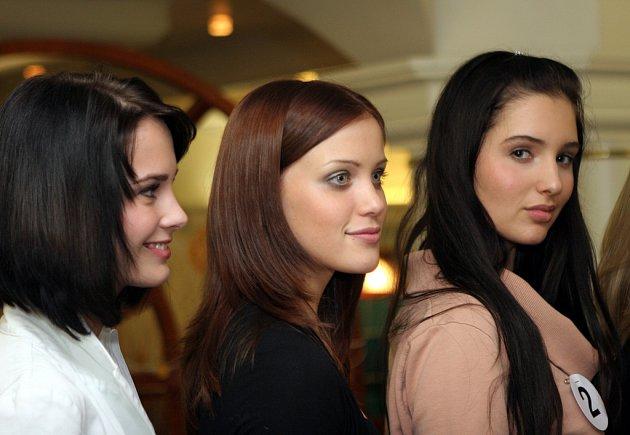 Semifinále Miss Moravia