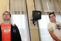 Soud - Pavel Lužný a Petr Kvapil