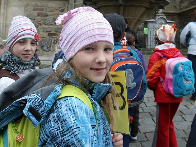 Děti z brněnské diecéze strávily Jeden den na Petrově.