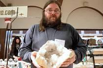 Výstava minerálů v Tišnově.