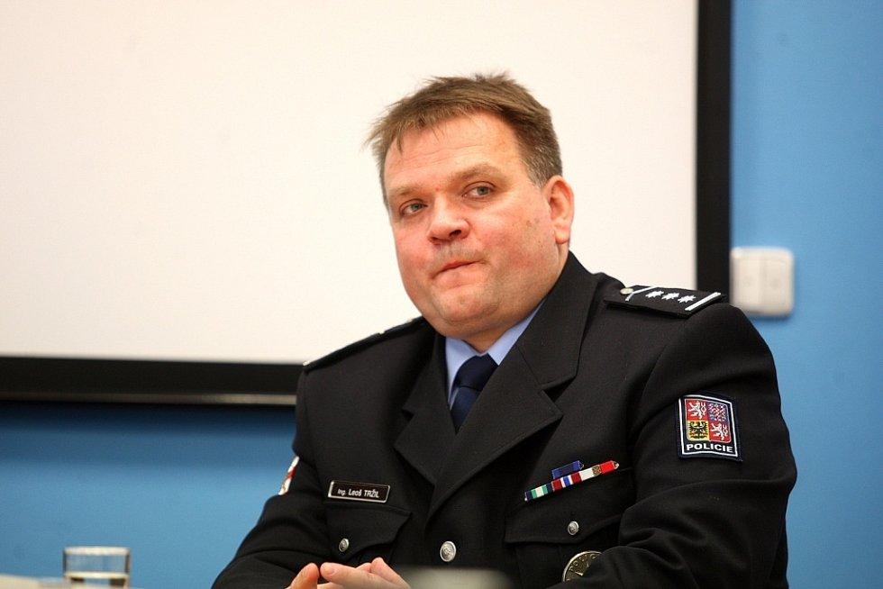 Nový policejní šéf Leoš Tržil.