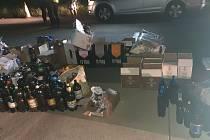 Dodávka plná alkoholu a cigaret. Moldavského pašeráka však chytili
