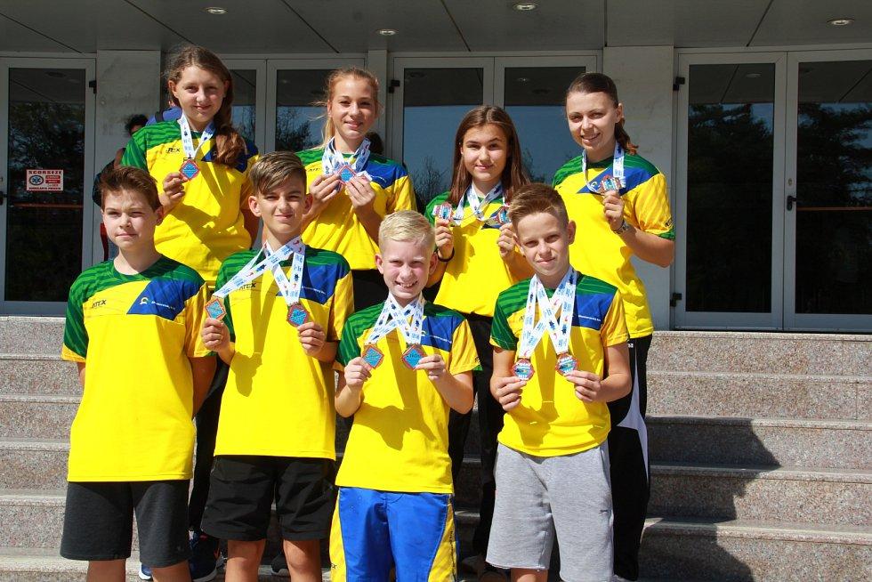 Brněnská karatistka Veronika Mišková podruhé v řadě vybojovala zlatou medaili na mistrovství světa. Mládež JMK na MS Goju ryu.