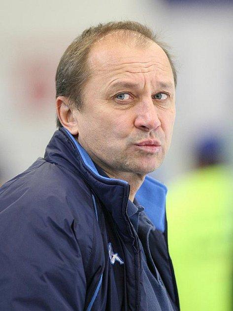 Trenér Vladimír Jeřábek - Kometa Brno.