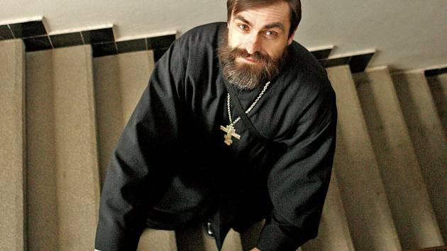 Kněz Libor Halík.