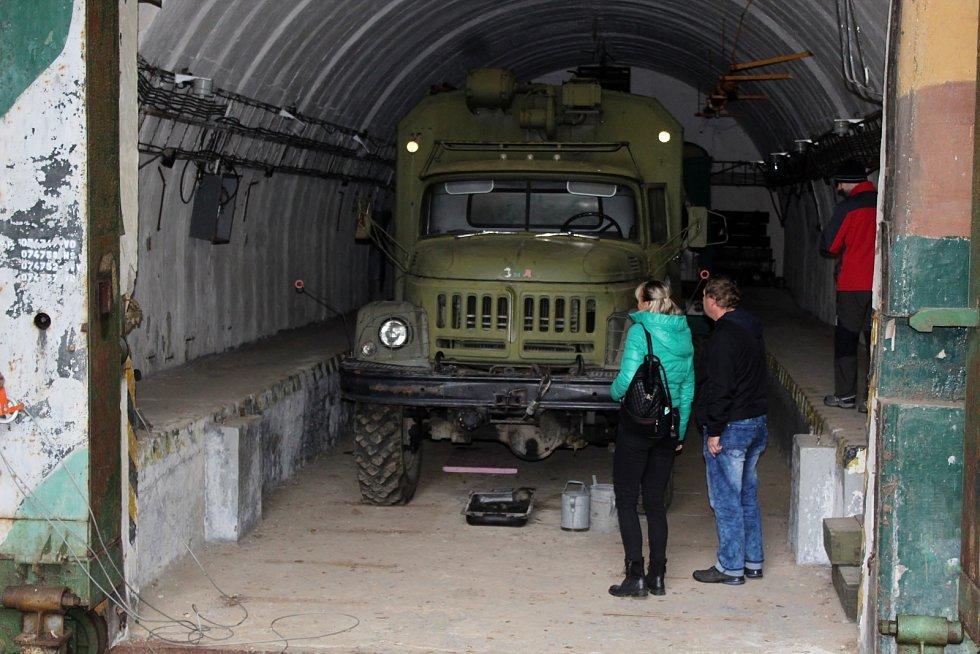 V sobotu se otevřela lidem bývalá raketová základna protiletecké obrany města Brna. Nadšenci ji postupně mění v tématický zábavní areál.