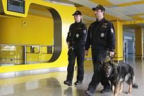 Zvýšená bezpečnostní opatření na letišti v Tuřanech.