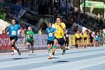 Mladí sportovci v Brně oblékli trička barev olympijských kruhů a soutěžili v desátém republikovém finále Odznaku všestrannosti.