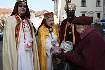 Žehnání tří králů na Petrově.