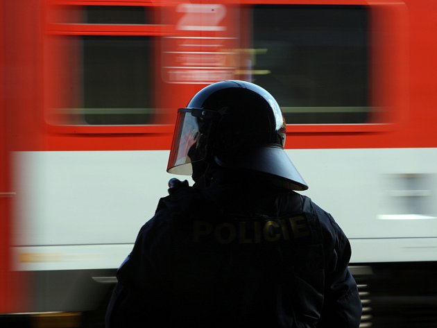 Fanoušci Baníku v Brně.